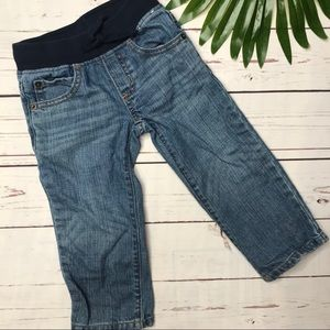 {Gymboree} sz 2T straight leg jeans stretch waist